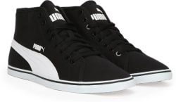 Puma Elsu v2 Mid CV IDP Mid Ankle Sneakers For Men (Black)