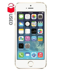 CERTIFIED USED Apple iPhone 5s ( 16GB , Gold , 1 GB 1 GB , 6 Month Ingram Warranty ) Good Condition