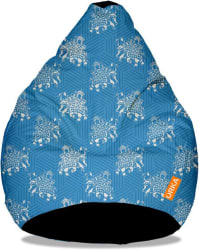 ORKA XXXL Bean Bag Cover (Without Beans) (Multicolor)