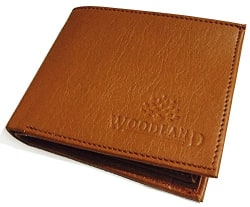 woodland Tan Men s Wallet