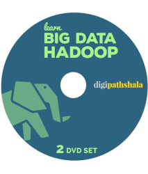 Learn Big Data- Hadoop and MapReduce 2 DVD Set (45 hours of Content and 2 Real Time Projects)