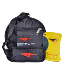Gene Black Medium Polyester Gym Bag