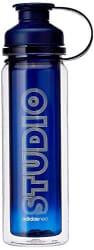 Adidas AZ0942NS Polyester Studio Bottle, Women s (Blue)