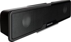 Philips SPA75/94 4 W Laptop/Desktop Speaker (Black, Stereo Channel)