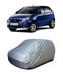 High Quality - Car Body Cover - Silver - Tata Indica Vista