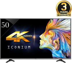 Vu 127cm (50 inch) Ultra HD (4K) LED Smart TV (LEDN50K310X3D)