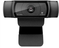 Logitech HD Pro Webcam (Black)