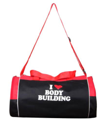 Star-X red and black Gym Bag