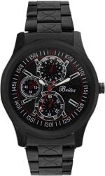 Britex BT6144 Black fox Watch - For Men