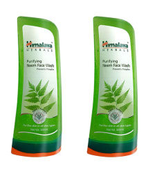 Himalaya Purifying Neem Face Wash - 300 ml Each (Pack of 2)