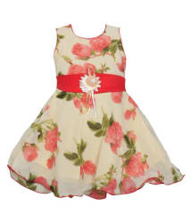 MPC Comfortable Multicolor Cute Party Wear Frock