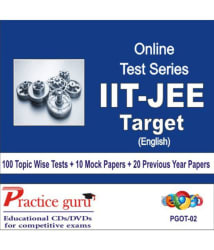 Sure shot Online Tests for JEE Mains (105 Topic Tests, 10 Full Course, 10 All India Tests) Online Tests