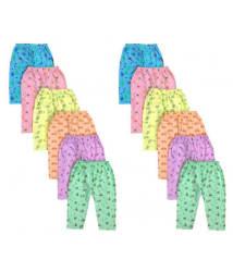 Peridot Credo Comfortable Multicolor Cotton Leggings Pack of 12