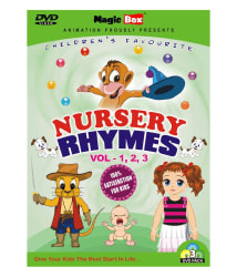 Nursery Rhymes Volume - 1, 2 & 3 (Pack of 3 DVDs) (English) by Magicbox