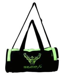 Star-X green and black Gym Bag