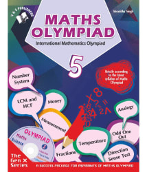 International Maths Olympiad - Class 5 (With CD)