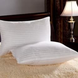 Details about Warmland Classic Stripes MicroFibre Bed/Sleeping Pillow-17x27 Inch