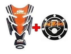 Combo KTM Inspired Tank Pad/ Tank Sticker For DUKE/RC 125/200/390