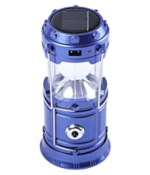 Mg Gold 12W Solar Emergency Light/ Lantern (Assorted Color) with USB for Charging