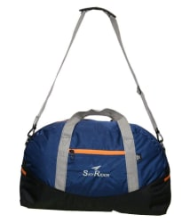 Skyrider Blue Solid Duffle Bag