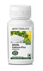 Details about Amway NUTRILITE Alfalfa Calcium Plus 25% Extra - 113 Tablets Pack - EXP: 06/2019