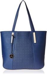 Diana Korr Women s Shoulder Bag Handbag (Blue) (DK40HDBLU)