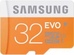 Samsung 32GB MicroSDHC Evo Class10 micro sd high speed card 32 GB + Warnty