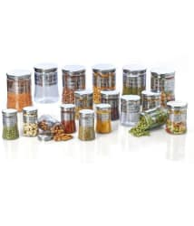 Steelo Belly - 18 Pcs Pet Container Set