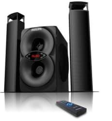 Philips MMS4200 2.1 Multimedia Speaker System, black