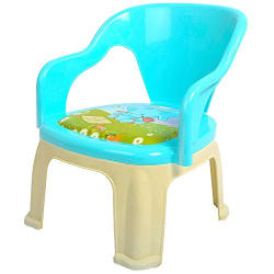 Baybee Pop N Up Strong Durable Baby Chair - Blue