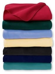 Details about GoodLyf s Polar Fleece Plain Single Bed AC Blankets- 5 Options