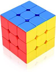 Emob Stickerless 3x3x3 High Speed Magic Rubik Cube Puzzle Toy (1 Pieces)