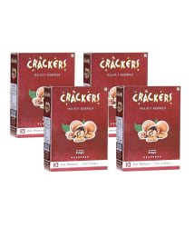 GO Crackers Kashmiri Brown Walnuts (Akhrot) 1 Kg (250gm x 4)-Without Shell