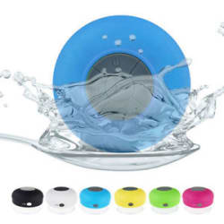 Portable New Bluetooth 4.0 Speaker Subwoofer Shower Waterproof