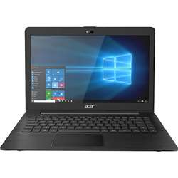 Acer One Pentium Quad Core Windows 10 Laptop (4GB, 500GB HDD, 35.56 cm, Black)