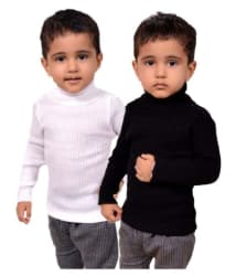 Lienz Multicolor Woollen Pack of 2 Pullovers For Boys