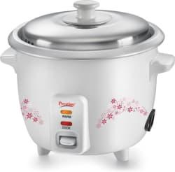 Prestige Delight PRWO - 1.0 Electric Rice Cooker (1 L, White)