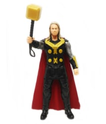 Thor Classic Titan Tech Ultimate Super Power Action Figure Responds with Touch
