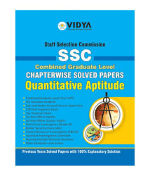 SSC Graduate Solved Papers Quantative Aptitude (Downloadable PDF) by Vidya Downloadable Content