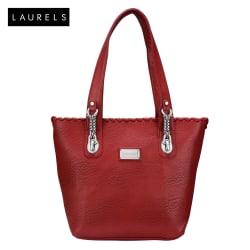 Laurels Superwomen Women s Tote Handbag (LBG-SPW-1010), red