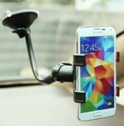 UNIVERSAL CAR MOUNT CRADLE HOLDER STAND WINDSHIELD GLASS FOR MOBILE PHONES