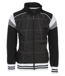 Haig-Dot Black Fleece Sweatshirt For Boys