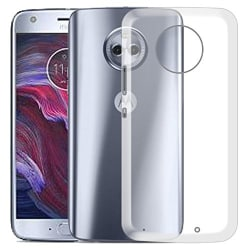Hello Zone Exclusive Soft Transparent Crystal Clear Back Cover Back Case Cover For Motorola Moto X4