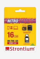 Strontium 16 GB Nitro OTG USB3.0 (Black)