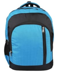 Favria Bags N Packs Series 25 L Laptop Backpack (Blue, Black )