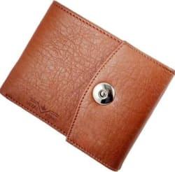Vital King Tan Magnet Wallet (6 card slots)