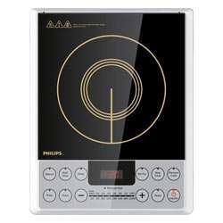 Philips HD4929 Induction Cooker (Black with Golden Prints)