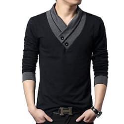 Tshirt Fashionable t shirt-Designer-V-neck-Men