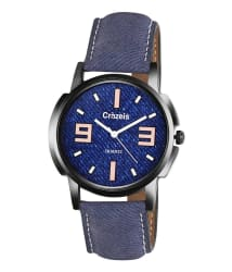 Crazeis Blue Analog Wrist Watch
