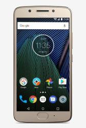 Motorola Moto G5 16 GB (Fine Gold) 3 GB RAM, Dual SIM 4G
